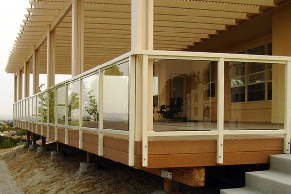 Aluminium Railing Systems : Deck railing systems easyrailings aluminum railings