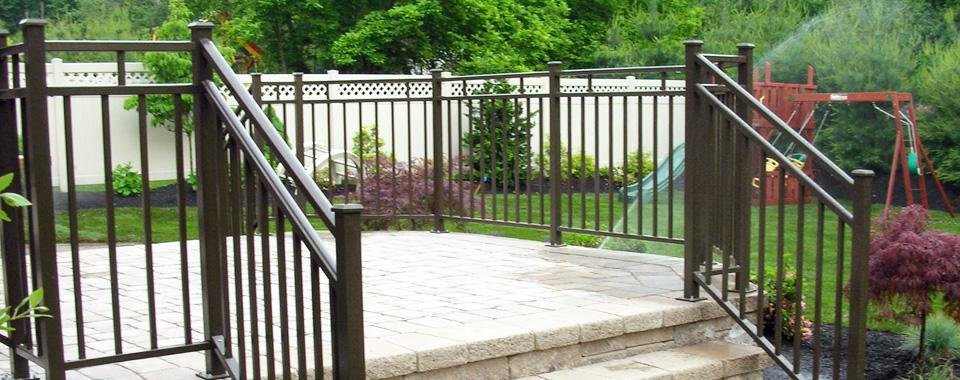 decorative aluminum railing. Easy210 Deck Railing Systems  Easyrailings Aluminum Railings